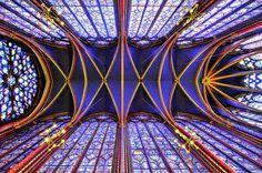 Sainte Chapelle, Paris by Samuel ASSELIN, via Flickr