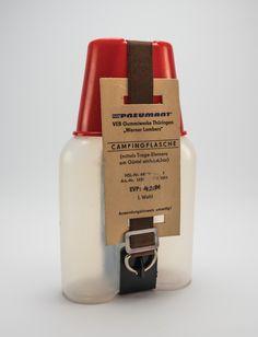 """DDR Museum - Museum: Objektdatenbank - """"Campingflasche"""" Copyright: DDR Museum, Berlin. Eine kommerzielle Nutzung des Bildes ist nicht erlaubt, but feel free to repin it!"""
