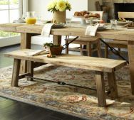 one more farmhouse table....love this!