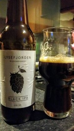 Lysefjorden Mikrobryggeri Black IPA. Watch the video Beer review here…