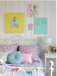 Candy Color na decoração do quarto Mais