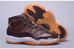 698c33e1f78d34 Air Jordan 11 Hamilton Chocolate Gum Discount FjjRTe