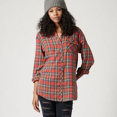 Checked Shirt Long sleeve checked shirt. 100% Cotton.