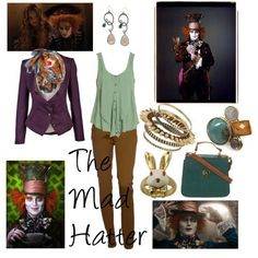The Mad Hatter | 10 Disney Character Inspired Outfits http://amzn.to/2sZatTS