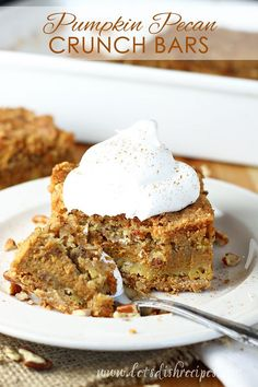 Pumpkin Pecan Crunch