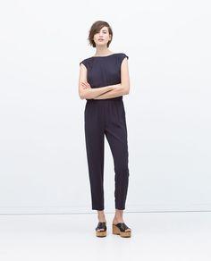 Image 1 de COMBINAISON LONGUE FRONCES AU DOS de Zara