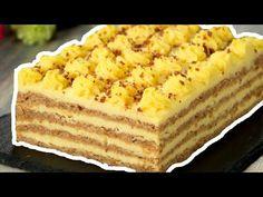 Această prăjitură cu nuci întrece orice tort! Atât de gustoasă, toți vor dori să o guste Romanian Desserts, Romanian Food, Food Cakes, Delicious Deserts, Yummy Food, Cake Recipes, Dessert Recipes, Bulgarian Recipes, Other Recipes