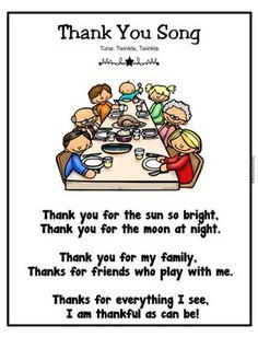 November Poems and Songs – November poem - To Have a Nice Day Rhyming Preschool, Preschool Music, Preschool Lessons, Preschool Classroom, Preschool Activities, Preschool Weather, Thanksgiving Poems, Thanksgiving Preschool, Songs For Toddlers
