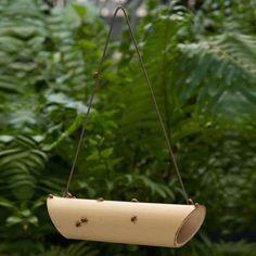 Bamboo Ladybug Feeder