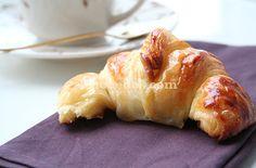 Croissant, Cruasán. Cómo hacer cruasanes caseros