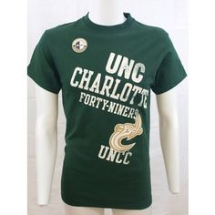 UNC Charlotte 49ers on Front and UNCC on Back T-Shirt @ Gray's College Bookstore