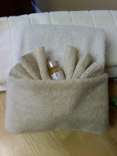 Make your guests feel welcome with shampoo and a fancy towel fold! - Hailey Hobbs