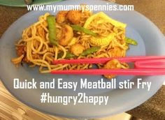 quick and easy meatball stir fry recipe - richmond mini meatballs