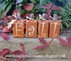 Today's Fabulous Finds: Fall Pumpkin Patch #DIY