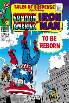 Tales of Suspense 96 Captain America cover by Jack Kirby 1967