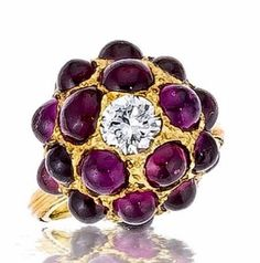 Buccellati Purple Sapphire Ring