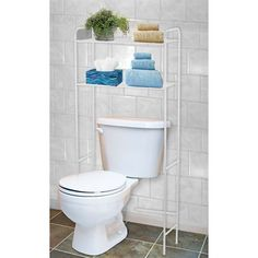 Over toilet space saver shelf   45 plus postage from dealsdirectHome Chic Decor Nantucket White Bathroom Wall Display Shelf W  . Space Saver Toilet Dimensions. Home Design Ideas