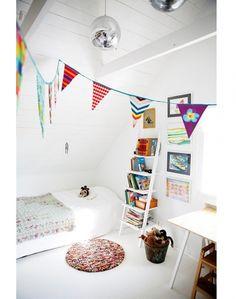 9x vrolijke vlaggen in huis