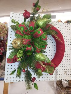 Christmas wreath by kyong