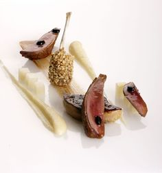 Pigeon with shallots, hazelnuts and coffee | FOUR Magazine