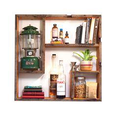 Fun display shelf