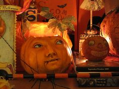 Halloween Art Works from Petaluma 2009 with Wendy 073. Look at Wendy's Vergie Lightfoot ...