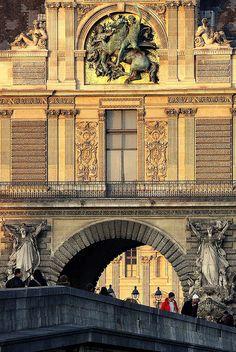 Pont du Carrousel, Paris (by jfgornet) All things Europe da vedere Beautiful Paris, I Love Paris, Most Beautiful Cities, Paris Travel, France Travel, Tour Eiffel, Monuments, Pont Paris, Paris Paris