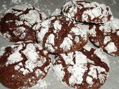 Μια συνταγή για λαχταριστά και πεντανόστιμα μπισκότα σοκολάτας για το καφέ, για το γάλα, για το αφέψημα ή και για τι... γιατί είναι υπέροχα... Xmas Food, Christmas Cooking, Biscuits, Fudge Cookies, Cookie Recipes, Gluten Free, Sweets, Chocolate, Baking