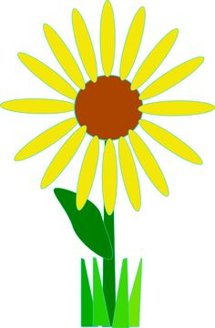 free sunflower clipart public domain flower clip art images and rh pinterest com free sunflower clip art borders free sunflower clipart clear background