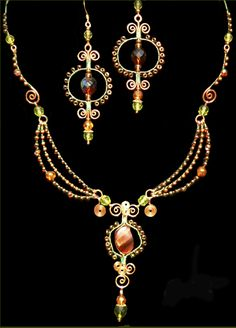 wire jewelry by Bizsucic.deviantart.com on @deviantART