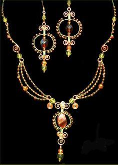 wire jewelry by Bizsucic on deviantART