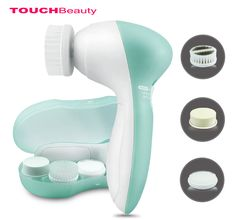 Features: with four different brushes deeply cleans the skin. # Cleaning and Clearing Brush oily combination skin: Deeply cleans oil and residual make-up in the pores making for . Brush Cleanser, Facial Cleansing Brush, Skin Growths, Cosmetic Design, Homemade Face Masks, Skin Care Remedies, Skin Care Tools, Face Skin Care, Best Face Products