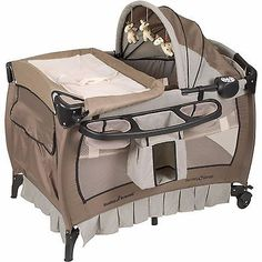 Nursery Center Playard, Deluxe Playpen Baby Infant Bed Portable Travel Table - http://baby.goshoppins.com/baby-gear/nursery-center-playard-deluxe-playpen-baby-infant-bed-portable-travel-table/