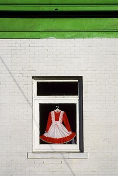 Equinox Gallery Vancouver - Dress in Window by Fred Herzog
