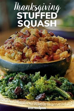 Thanksgiving just wouldn't be the same without a side of squash or dressing, now would it? This holiday staple hybrid simplifies the menu without the expense of losing the beloved fall feast favorites#friendsgiving #friendsgivingrecipes #thanksgiving #recipes #myrecipes