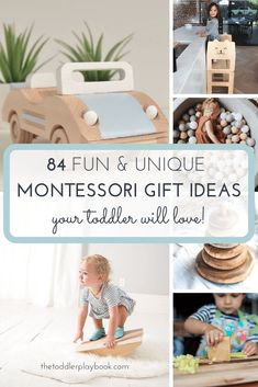 Discover the best handmade Montessori toys for toddlers here! Whether your little one is 18 months or years, you'll find the perfect birthday, holiday, or anytime gift for your child. Montessori Playroom, Montessori Toddler, Montessori Activities, Infant Activities, Activities For Kids, Montessori Materials, Learning Toys For Toddlers, Kids Toys, Fun Learning