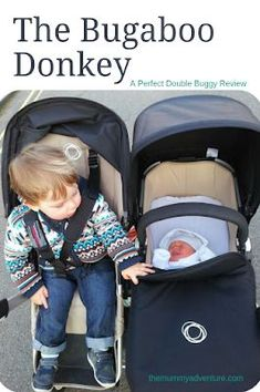 Bugaboo donkey, perfect double pushchair, Bugaboo, side by side double, themummyadventure.com #Bugaboodonkey #perfectpushchair #perfectdoublepushchair #Bugaboo #Pushchairreview #Donkey #sidebyside Double Buggy, Bugaboo Donkey, Prams, Baby Car Seats, Baby Strollers, Parenting, Children, Wheels, Baby Prams