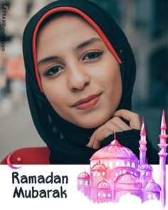Unique Happy Ramadan Photo Frame For Stories