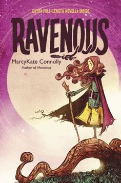 Ravenous by MarcyKate Connolly. A witch has come to the city of Bryre. She travels in a hut that has chicken feet, and she's ravenous for children. When the witch captures Hans, Greta's little brother, Greta refuses to let her have him. The two strike up a bargain. Greta will retrieve something the witch desires in exchange for her brother's freedom.To get the prize Greta must travel to Belladoma—a city where she was once held captive. With the help of a new friend, Dalen, a magical half-boy…