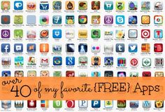 40 Favorite Free Apps from Simple Organized Living