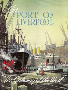 "The Port of Liverpool - ""gateway to the West"" - publicity brochure for the Mersey Docks & Harbour Board, c1950"