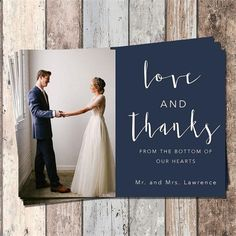 48 Wedding Thank You Cards And Etiquette You Will Like In 2019