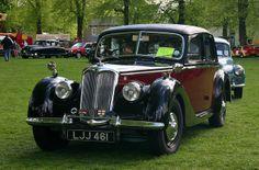 Yesteryear Road Run 2014, vintage vehicles set off from Cottenham Green nr Cambridge, England
