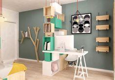 Concept Architecture, Kids Furniture, Girls Bedroom, Office Desk, Shelving, Interior Design, Children, Home Decor, Furniture For Kids