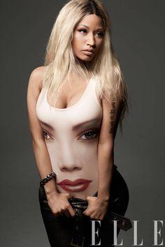 Nicki Minaj Print Jeremy Scott for Adidas Bathing Suit - Nicki ...