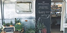Menagerie a small batch beauty, men's grooming products, gift, plant and flower shop was established in 2014. Proprietor Casey Shagena renovated a 1979 vintage Airstream to house her shop which is located in Tidbit market in Portland. The 250 SF space was renovated to feel open and airy with reclaimed hardwood floors and custom displays. Given the petite selling space Casey is careful to select products that are ethically sourced and made in small batches. The skincare, beauty and shave…