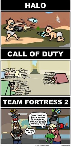 Who says First Person Shooters are all the same? #FirstPersonShooters #CallofDuty #TeamFortress2