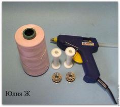 Способ экономичного использования больших бобин для оверлока - Ярмарка Мастеров - ручная работа, handmade