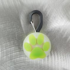 Nite Ize PetLit LED Collar Light with Paw Print Design for Dog and Cat, at Only Natural Pet Store, lets you see Spot & Fluffy. See Spot & Fluffy run. See Spot & Fluffy run (walk, or just sit there) from up to 100 feet away, even when it's dark. Led Dog Collar, Collar And Leash, Pet Collars, Crystal Decor, Collar Designs, White Lead, Your Pet, Dog Stuff, Dog Lovers