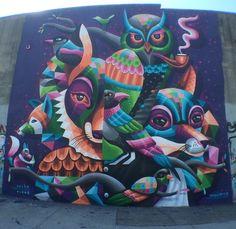 """by Eelco """"Virus"""" van den Berg - Bushwick, Brooklyn, NY - 10/14 (LP)"""